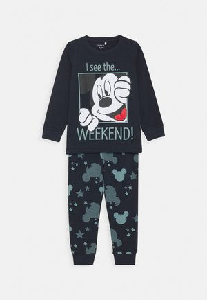 DISNEY MICKEY MOUSE CAPPER NIGHT - Pyjama set - dark sapphire