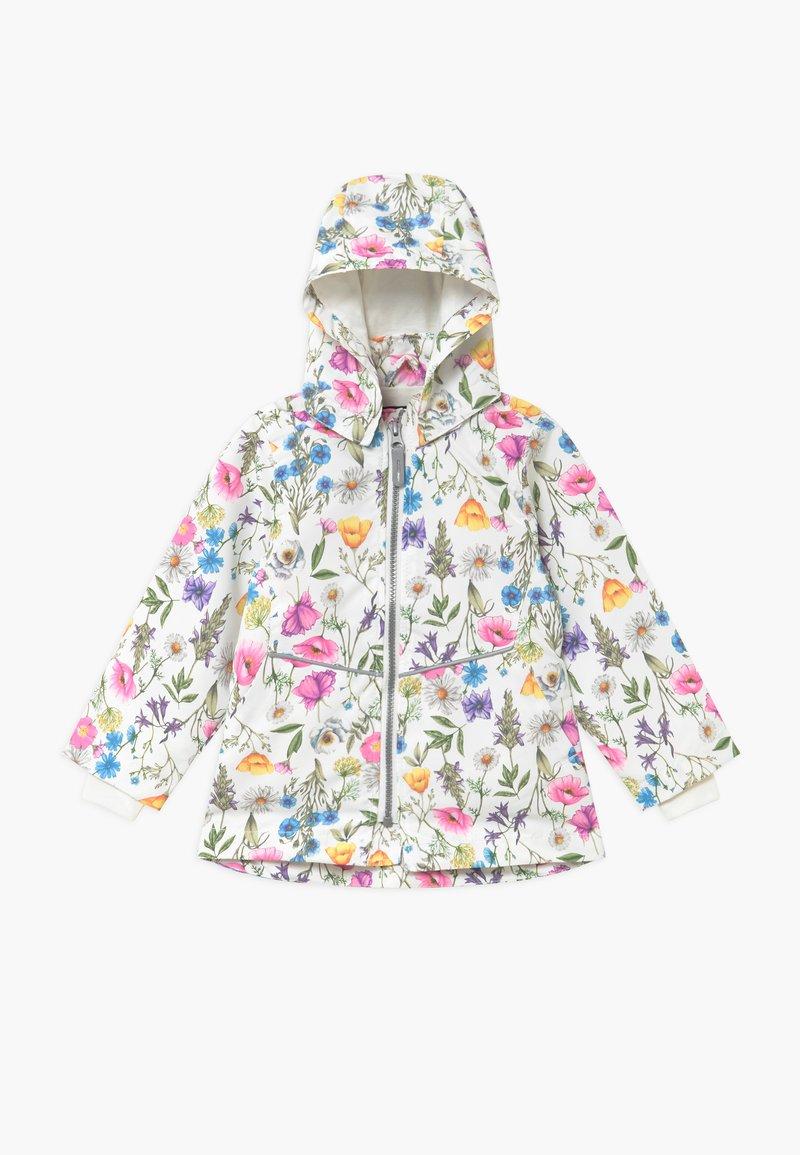 Name it - NMFMAXI FLOWER - Parkas - snow white