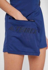 adidas Performance - TERREX HIKE JUMPSUIT - Trainingsanzug - dark blue - 5