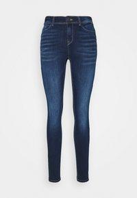 NMALICE  - Skinny džíny - dark blue denim