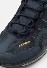 Lowa - GORGON GTX - Hiking shoes - steel blue/mustard - 5