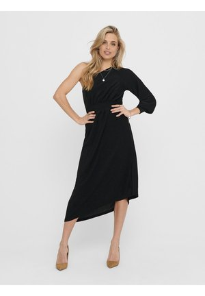 ONE SHOULDER - Cocktail dress / Party dress - black