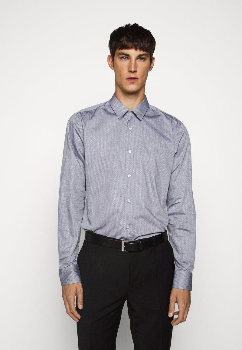 HUGO - ELISHA - Formální košile - black