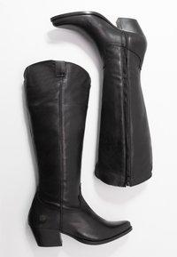 Apple of Eden - CELYN - Cowboy/Biker boots - black - 3