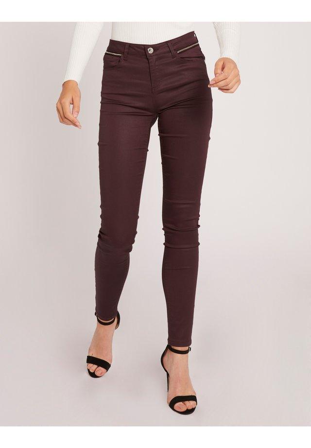 Jeans Skinny Fit - bordeaux