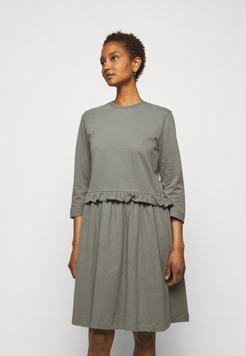 CURL - Jersey dress - anthracite