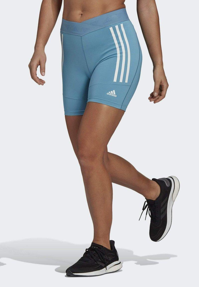 adidas Performance - SPEED CREATION SHORTS - Sports shorts - blue