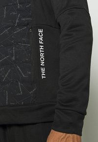 The North Face - TRAIN LOGO HYBRID INSULATED JACKET - Light jacket - black - 5