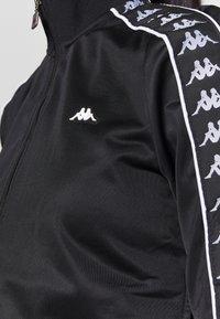 Kappa - HASINA - Training jacket - caviar - 5