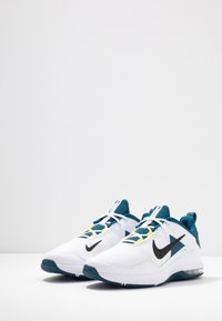 Nike Performance - AIR MAX ALPHA TRAINER 2 - Sports shoes - white/black/blue force/dynamic yellow - 2
