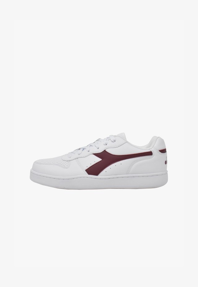 PLAYGROUND - Sneakers basse - white-violet prune