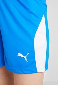 Puma - LIGA  - Sports shorts - electric blue lemonade/white - 5