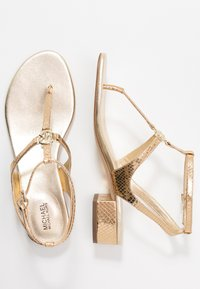 MICHAEL Michael Kors - LITA THONG - Sandals - pale gold - 3