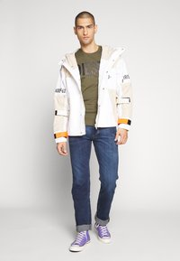 Diesel - J-REED JACKET - Summer jacket - cream - 1