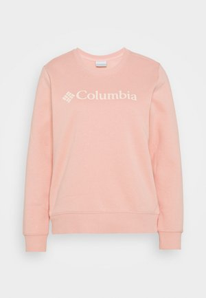LOGO CREW - Sweatshirt - faux pink