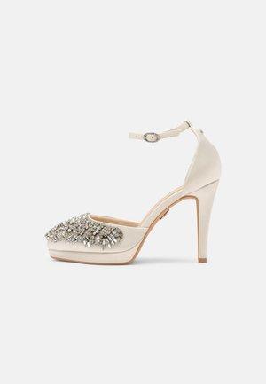 DARIA - Platform heels - ivory
