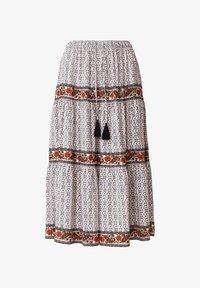 Indiska - ORA - Áčková sukně - beige - 4