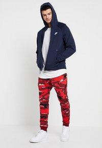 Nike Sportswear - Sudadera con cremallera - obsidian/white - 1