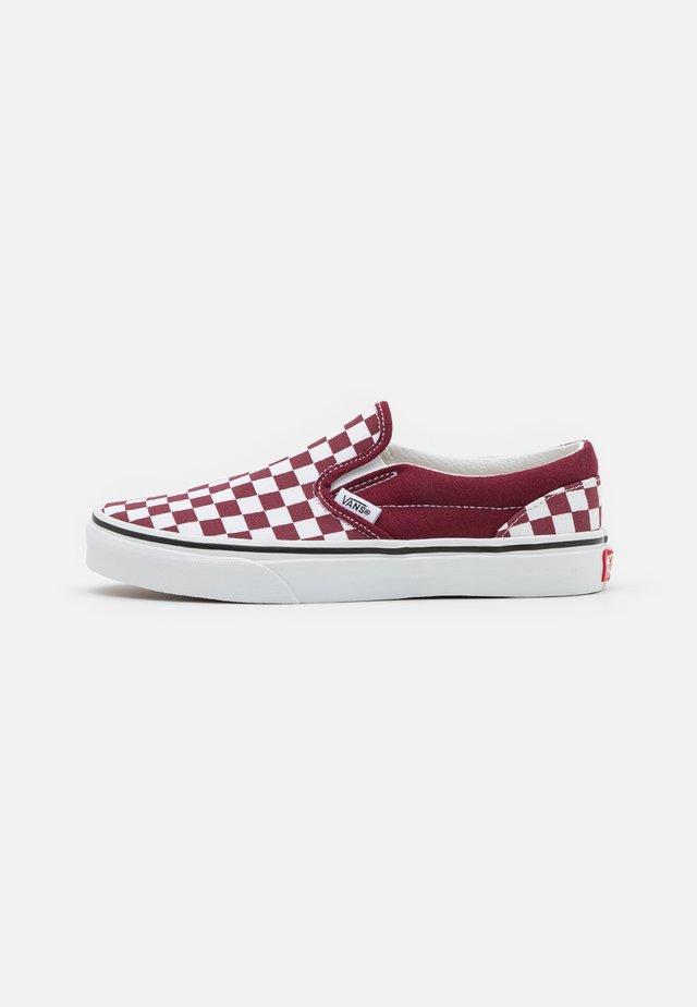 CLASSIC UNISEX - Sneakers basse - pomegranate/true white