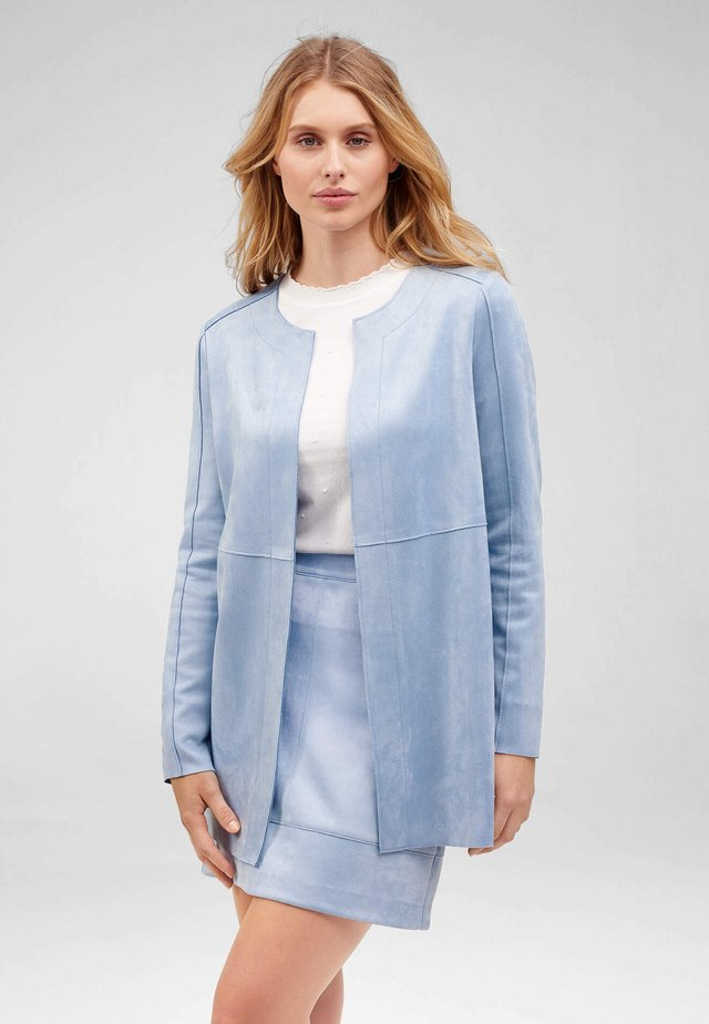 Short coat - sky blue