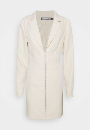 CORSET DETAIL BLAZER DRESS - Etui-jurk - stone