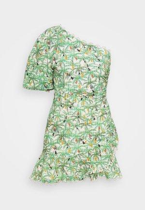 MINI TOUCANS ONE SHOULDER MINI DRESS - Vestido informal - multi