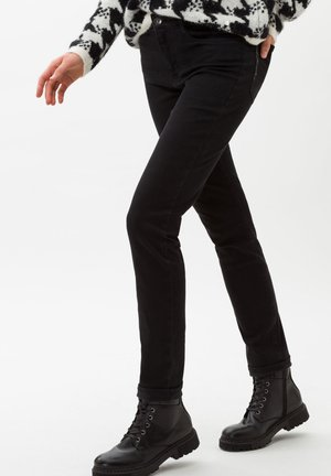 STYLE SHAKIRA - Slim fit jeans - clean black black