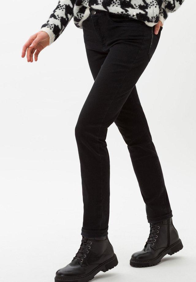 STYLE SHAKIRA - Slim fit jeans - clean black black