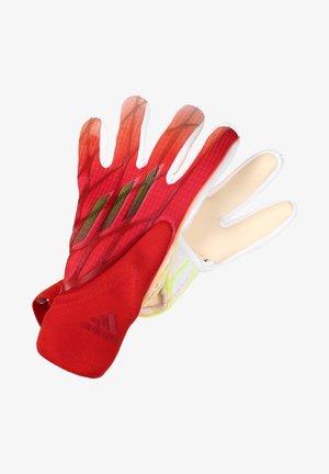 Gloves - solar red / white / red / black