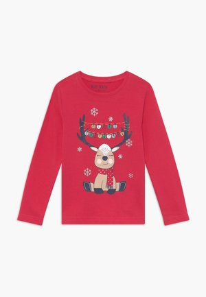 KIDS CHRISTMAS REINDEER - Long sleeved top - hochrot