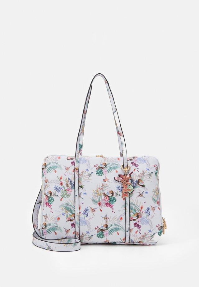 BRIEFCASE ALOHA - Håndtasker - ecru