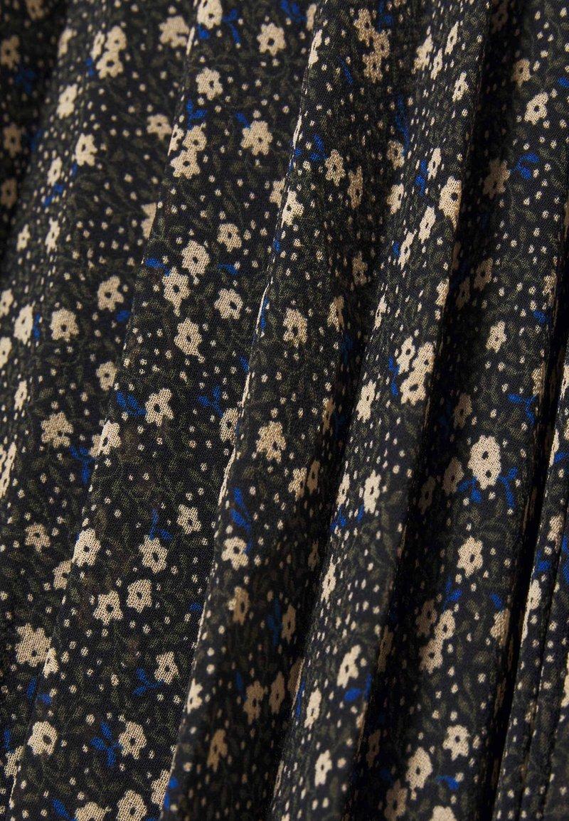 Second Female DELLA SKIRT - A-Linien-Rock - caviar/oliv wgcCAP