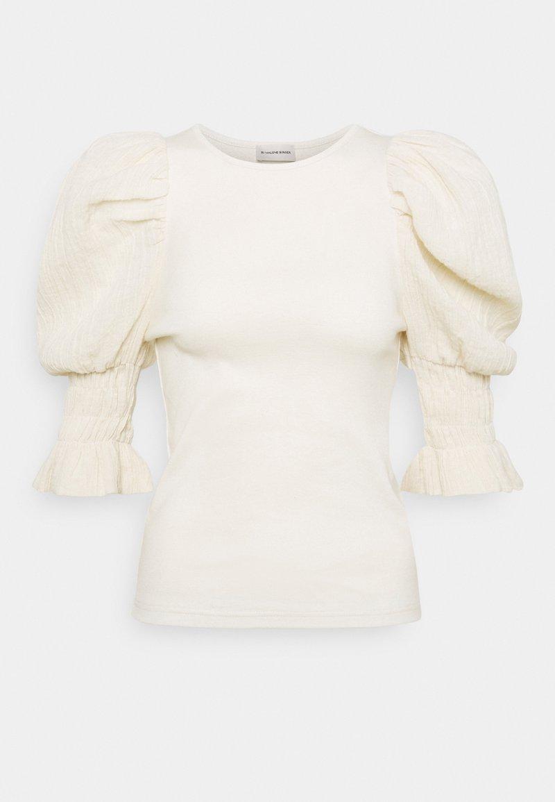 By Malene Birger - DECONDON - Print T-shirt - cream