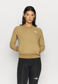 The North Face - W VENTRIX LT HYBRID PULLOVER - Outdoorjakke - moab khaki - 0