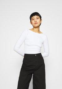 Zign - Long sleeved top - white - 0