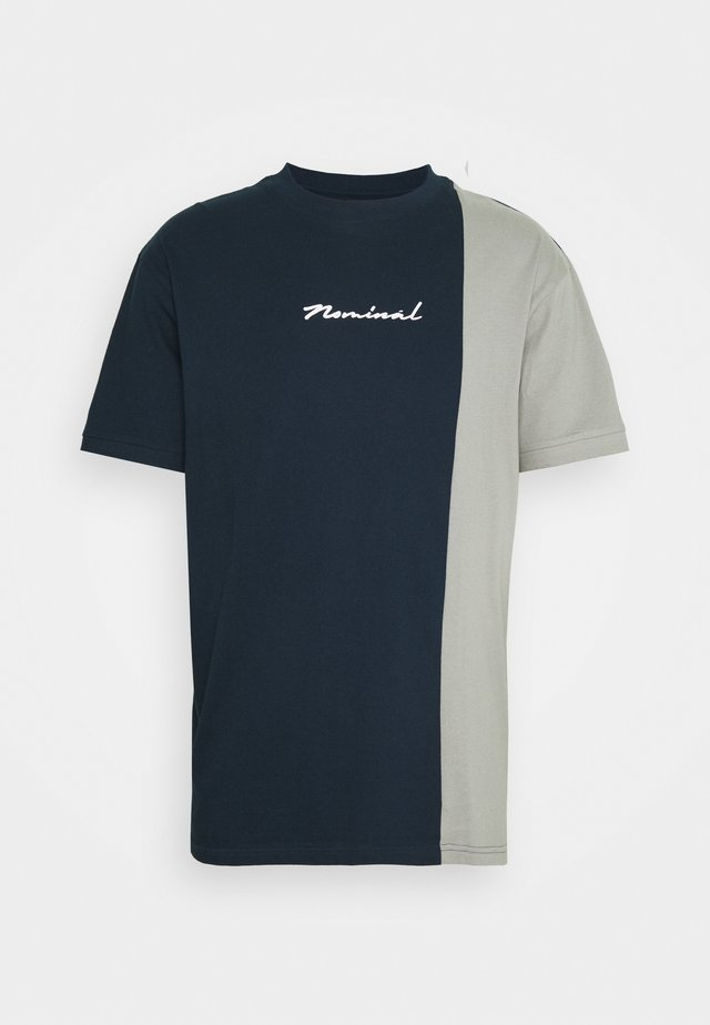 SPLIT - T-shirt print - navy