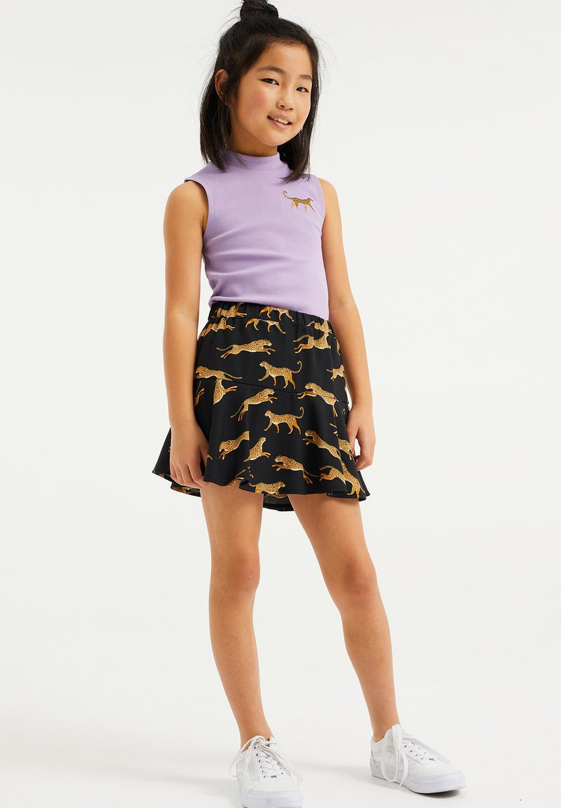 WE Fashion - EMBROIDERY - Top - lilac