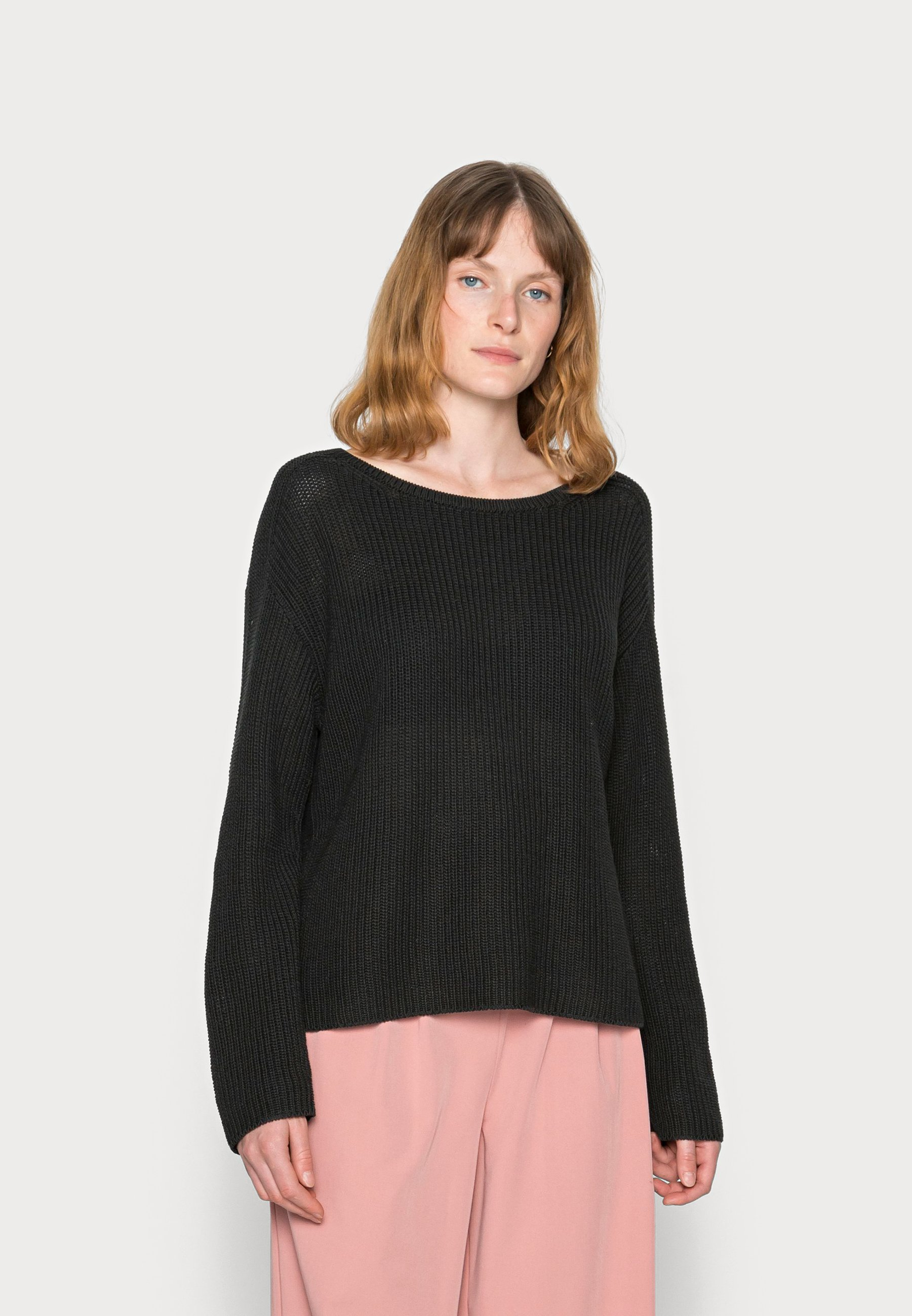 Mujer LONG SLEEVE ROUND NECK - Jersey de punto
