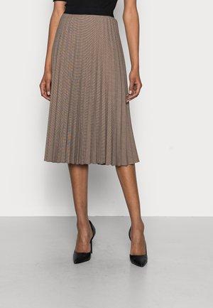 RAKINE - A-line skirt - truffle