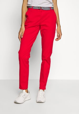 LANG - Chinos - luminous red