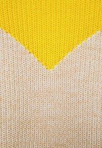 ONLY - ONLSOOKIE BLOCK - Jumper - beige/yellow - 2