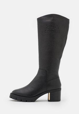 CINDY BOOT - Platform boots - black