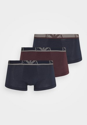 TRUNK 3 PACK - Panty - marine/caffe