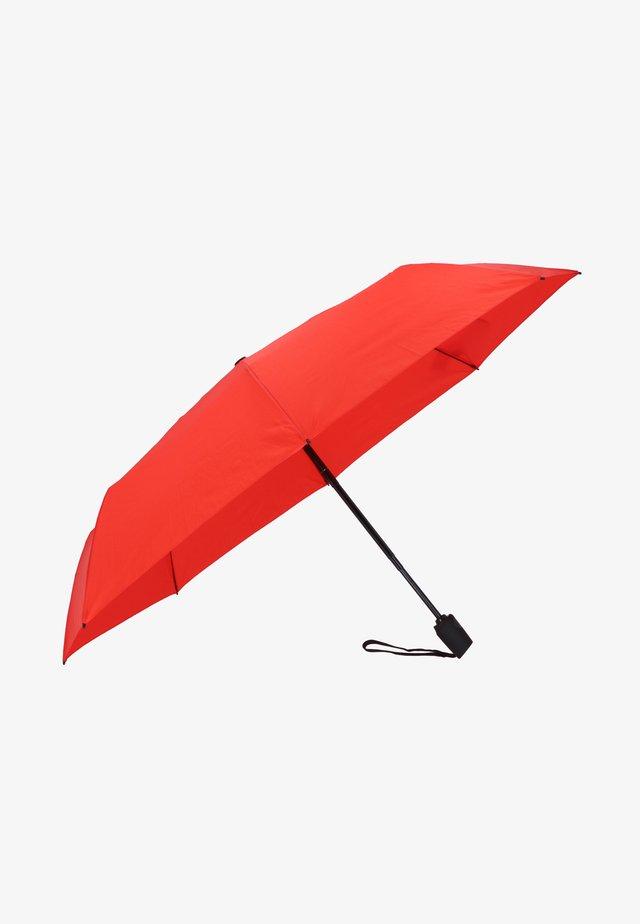 TRAVEL DUOMATIC - Umbrella - red