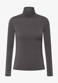 OYSHO - Long sleeved top - dark grey - 5