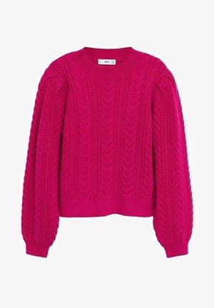 GRACE - Pullover - fuchsia