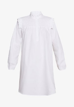ROSIE FUSINE SHIRT DRESS - Day dress - snow white