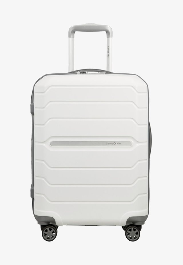 FLUX - Wheeled suitcase - white