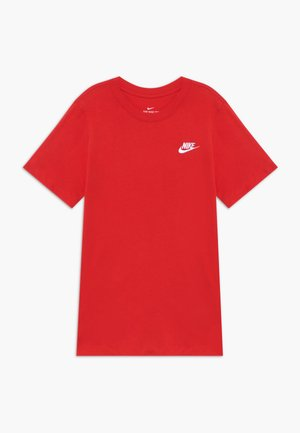 FUTURA TEE - Basic T-shirt - university red
