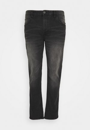 BERLIN - Straight leg jeans - black grey